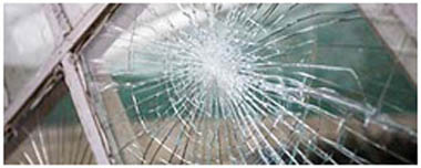 South Hornchurch Smashed Glass